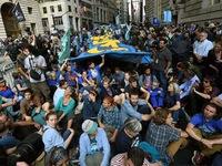 New York: Hàng trăm người biểu tình phản đối biến đổi khí hậu