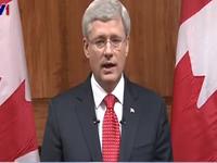 Canada sẽ không bị đe dọa sau thảm kịch nổ súng