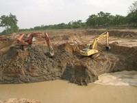 TP.HCM: Khai thác cát trái phép gây sạt lở đất sản xuất