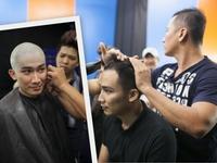 Gương mặt thân quen nhí 2014: Thầy trò Chí Thiện cạo tóc hóa thân CeeLo Green