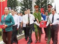 Chủ tịch nước dự lễ truy điệu, an táng hài cốt liệt sỹ ở Long Khánh