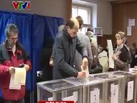 Lãnh đạo các đảng phái Ukraine hoan nghênh bầu cử Quốc hội