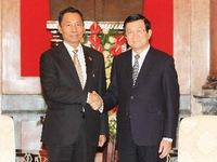 Chủ tịch nước tiếp Chủ tịch Quốc hội Myanmar