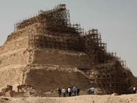 Ai Cập phủ nhận thông tin kim tự tháp Djoser bị hư hại khi tu bổ