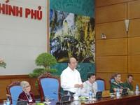 Phó Thủ tướng Nguyễn Xuân Phúc tiếp đoàn người có công tỉnh Quảng Ngãi
