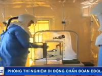 Sierra Leone mở phòng thí nghiệm di động chẩn đoán Ebola