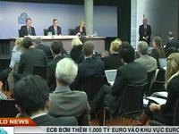 ECB bơm thêm 1.000 tỷ Euro vào khu vực Eurozone