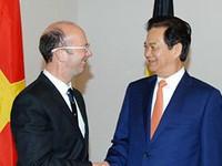 Một số hoạt động của Thủ tướng Nguyễn Tấn Dũng tại Brussels