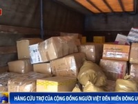 Hàng cứu trợ của cộng đồng người Việt đến miền Đông Ukraine