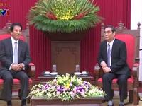 Đồng chí Lê Hồng Anh tiếp Đại sứ đặc biệt Nhật - Việt