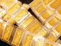 Giá vàng trong nước thấp nhất trong vòng 5 tháng qua