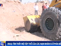 Tìm thấy mộ tập thể các nạn nhân của IS ở phía Bắc Iraq