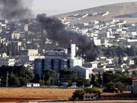 IS chiếm quyền kiểm soát gần một nửa thị trấn Kobani