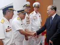 Chủ tịch Quốc hội gặp mặt cựu chiến binh Đoàn tàu không số