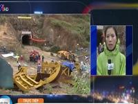 Sập hầm ở Lâm Đồng: Tiếp tục gắng sức đưa dưỡng khí xuống hầm