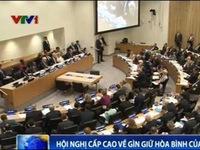 Phó Thủ tướng Phạm Bình Minh dự hội nghị cấp cao của LHQ