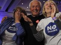 PV VTV phản ánh kết quả trưng cầu dân ý ở Scotland