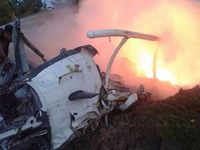 Rơi máy bay thảm khốc ở Thái Lan, 9 người thiệt mạng