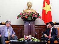 Phó Thủ tướng Phạm Bình Minh tiếp lãnh đạo Hội đồng An ninh quốc gia Nga