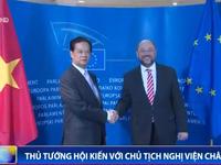 Thủ tướng hội kiến với Chủ tịch Nghị viện châu Âu