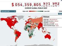 Mỗi người Việt phải gánh thêm 1,8 triệu VND nợ công