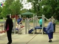 Độc đáo công viên người già tại Mỹ