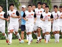 ĐT Olympic Việt Nam chốt danh sách dự Asiad 17