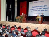 Thủ tướng dự lễ khai giảng ĐHQG Hà Nội