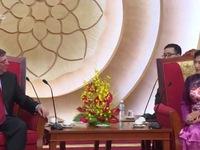 Phó Chủ tịch Quốc hội Nguyễn Thị Kim Ngân tiếp Bộ trưởng Ngoại giao Cuba