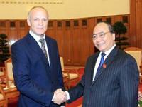 Phó Thủ tướng Nguyễn Xuân Phúc tiếp đoàn các nhà khoa học y tế Nga