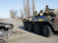 Nguy cơ bùng phát xung đột tại miền ĐôngUkraine