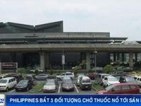 Philippines bắt giữ 3 đối tượng chở thuốc nổ tới sân bay