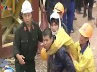 Cận cảnh giây phút đầu tiên giải cứu 12 nạn nhân vụ sập hầm thủy điện