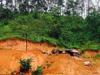 Sau bão số 3, giao thông tại các tỉnh phía Bắc bị ách tắc