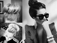 """Thỏa sức sáng tạo với tóc búi """"sock bun"""""""