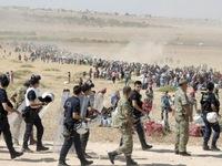 45.000 người Kurd ở Syria tiến vào Thổ Nhĩ Kỳ