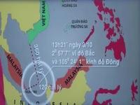 Hành trình tàu Sunrise 689 trước khi bị mất liên lạc
