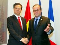 Thủ tướng tiếp xúc song phương với lãnh đạo nhiều nước châu Âu