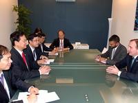 Thủ tướng tiếp xúclãnh đạo Kazakhstan, Hà Lan, Slovenia, Australia