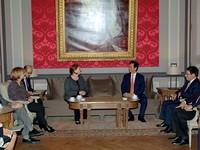 Thủ tướng hội kiến Chủ tịch Thượng viện và Phó Chủ tịch Hạ viện Bỉ