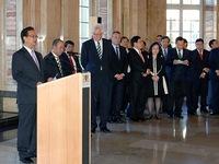 Thủ tướng Nguyễn Tấn Dũng gặp Thủ hiến bang Baden Wuerttemberg