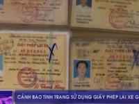 TT-Huế phát hiện nhiều trường hợp sử dụng giấy phép lái xe giả