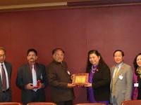 Phó Chủ tịch Quốc hội Tòng Thị Phóng tiếp Phó Chủ tịch Thượng viện Ấn Độ