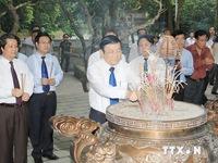 Chủ tịch nước dự lễ kỷ niệm Ngày Bác Hồ về thăm Đền Hùng
