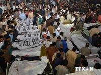 Nổ tại biên giới Pakistan - Ấn Độ, hơn 175 người thương vong