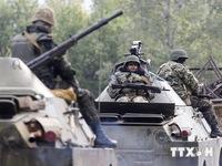 Ukraine gia tăng quân đội tới miền Đông