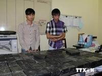Sơn La: Bắt vụ vận chuyển 160 bánh heroin