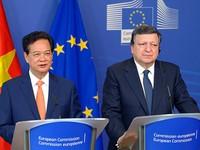 Tuyên bố chung Việt Nam-EU về định hướng kết thúc đàm phán FTA