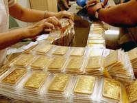 Giá vàng trong nước xuống dưới 35 triệu đồng/lượng