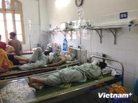 Nạn nhân vụ cháy bar Yên Phụ bị nhiễm độc khí và bỏng hô hấp nặng